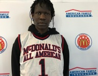 Bol Bol gets his very large McDonald's All American jersey
