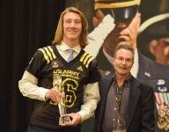 Lawrence, Tuliaupupu get their American Family Insurance ALL-USA Player of the Year Trophies