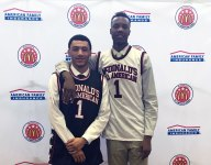 Teammates Jahvon Quinerly and Louis King ready to compete against each other at McDonald's All American Game