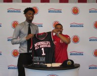 Prolific Prep's Jordan Brown gets his McDonald's jersey, says his college choice may come soon