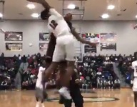 VIDEO: Iowa State-signee Talen Horton-Tucker with the block of the year for Simeon
