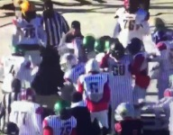VIDEO: Florida-Georgia football All-Star game stopped in third quarter after on-field brawl