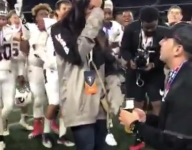 VIDEO: Coach of U-19 U.S. select football team wins international game, proposes to girlfriend