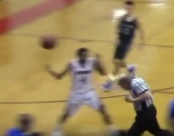 VIDEO: Uh oh! Referee's toupee takes a tumble during embarrassing basketball mishap