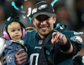 Athlete Look Back: Super Bowl MVP Nick Foles' HS coach says Foles was a gifted hooper