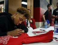 Romeo Langford on signing autographs for hometown fans: 'I know these kids look up to me'