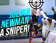 VIDEO: YouTube sensation Julian Newman shows off his Steph Curry range
