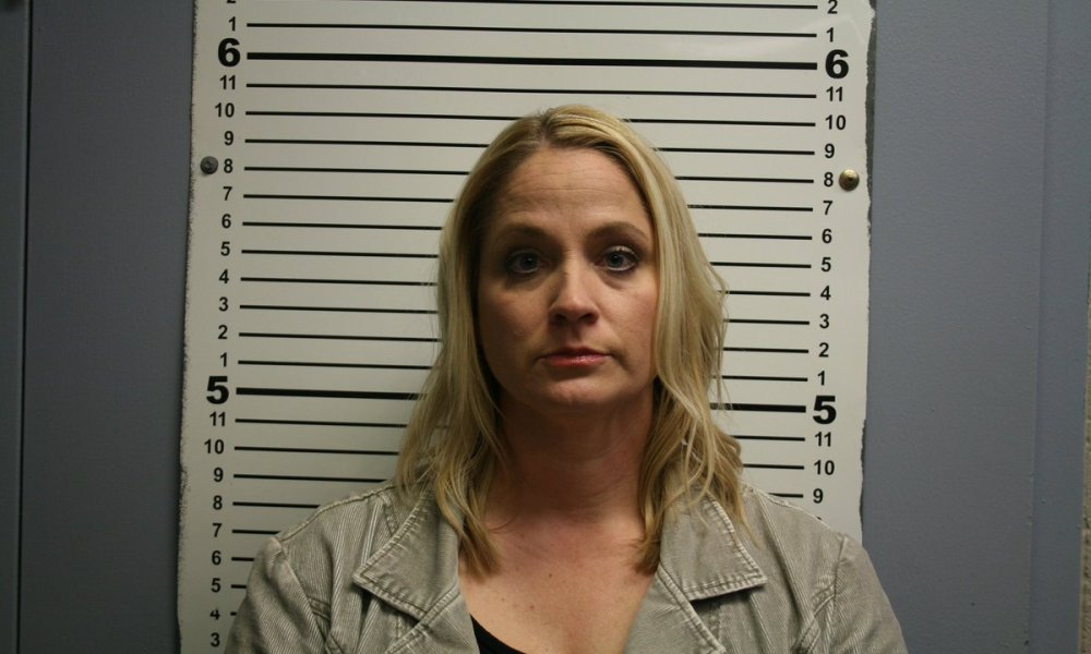 Caldwell teacher Jamie Goforth, the wife of the district's athletic director (Photo: @KBTXRusty/Twitter)