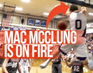 VIDEO: Mac McClung goes for 41 points in district championship