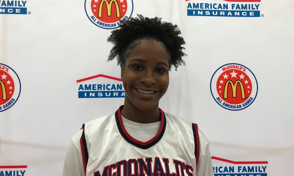 Queen Egbo (Photo: McDonald's All-American Games)