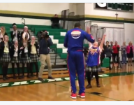 VIDEO: N.J. student with Down syndrome shoots hoops with Harlem Globetrotter