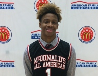 Romeo Langford said getting McDonald's jersey was a welcomed distraction from recruitment