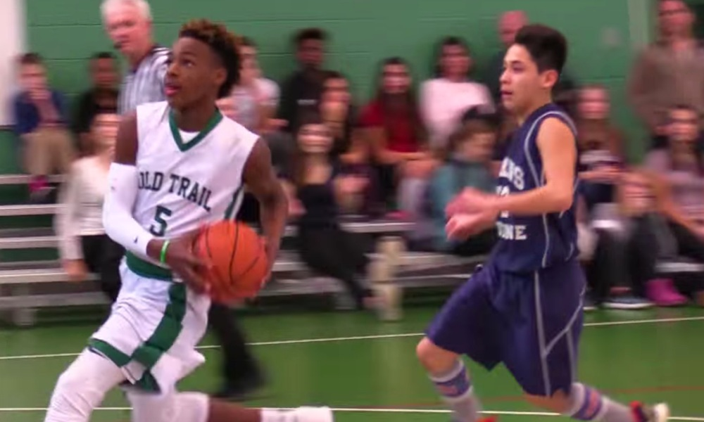 LeBron James Jr. (Photo: YouTube screen shot)