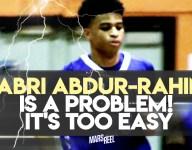 Watch Jabri Abdur-Rahim's impressive chase-down block for Seton Hall Prep