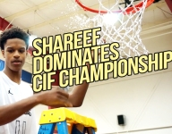 VIDEO: Shareef O'Neal dominates the rim against Birmingham (Calif.), cuts down the nets