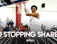 VIDEO: Shareef O'Neal brings it home in Crossroads rout