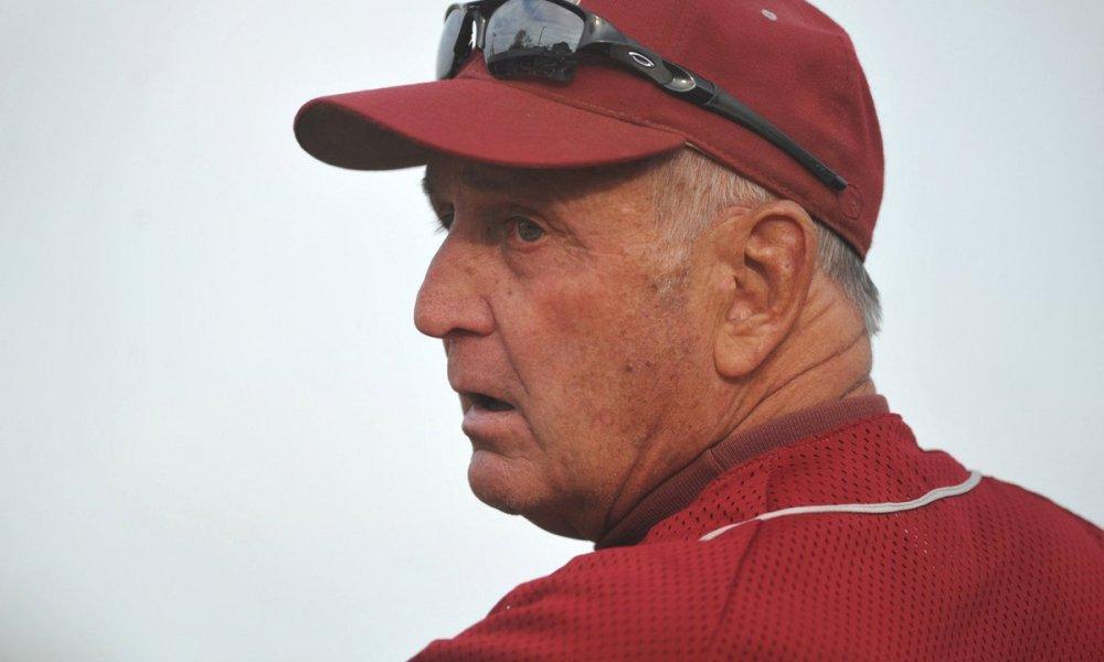 Former Garden City baseball coach Rich Smith (Photo: @NewsdayHSSports/Twitter screen shot)
