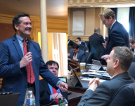 Virginia House of Delegates members place 'friendly wager' on Mac McClung's state tourney opener