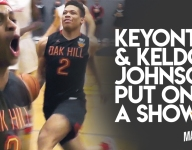VIDEO: Keyontae, Keldon Johnson put on aerial show in Oak Hill's senior night
