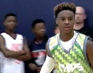 With Dad facing off against Celtics, LeBron James Jr. has to play entire youth tourney in green