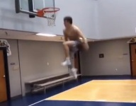 VIDEO: Mac McClung throws down ridiculous rocker dunk in training
