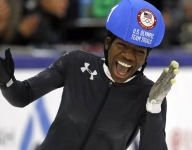 Girls Sports Month: Olympic speedskater Maame Biney on gaining experience and confidence through sports