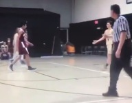VIDEO: Takoma Academy's Miles Weaver poster dunked an opponent ... then had the kid try to congratulate him