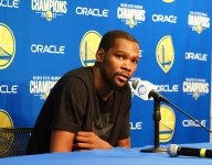 VIDEO: Kevin Durant dishes on Mac McClung, Bol Bol, Wisconsin stars, and a 'diamond in the rough' at Chino Hills