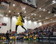 Zion Williamson takes home the POWERADE Jam Fest dunk title