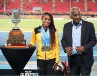 Briana Williams sets U-18 100-meter world record while fighting a fever