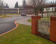 Report: Oregon parent left revolver in bathroom at volleyball tournament