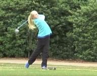Alabama third-grade girl making waves on varsity boys golf team