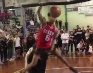 VIDEO: Watch Taevion Kinsey dunk over 7-foot teammates