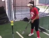VIDEO: North Shore (Texas) softball star Brianna Nunez has one heck of a bat trick