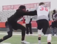 VIDEO: Watch Deion Sanders' son, Shilo Sanders, run a WR right out of bounds