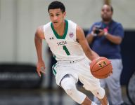VIDEO: Chosen 25 PG Jalen Suggs is also a 4-star QB recruit, and he could play either sport in college