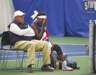 Tennis coach files restraining order after doubles team DQ'd