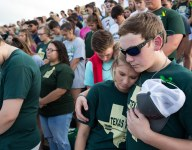 Texas school shooting victims return to dugout for baseball playoff game