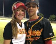 Southern California baseball, softball teams led by hitting-mad brother-sister duo