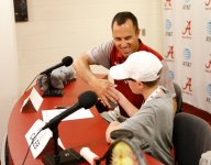 University of Alabama tennis signs fourth grader with rare immunodeficiency