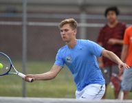 Two years after serious car crash, South Carolina high school senior Chris Aurich 'attacks' tennis, life