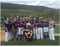 Pa. baseball team honors teammate with muscular dystrophy on senior day