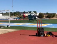 California track & field terror as student athlete hit in head by shot put