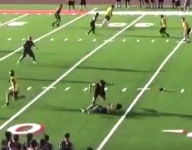 VIDEO: A dirty hit in a 7v7 competition got coaches all fired up about the ills of HS video highlights