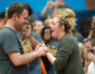Ill. band director proposes to dance coach at spring concert
