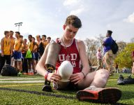 Heroic amputee Sean English at final track meet: 'I always knew I'd run again'