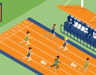 What sets track and field recruiting apart from other sports