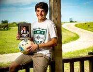 Two years removed from his brother's death, Pella (Iowa) soccer star Ethan Poulter finds strength and purpose