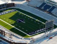 Cracks found in new $70 million Texas football stadium