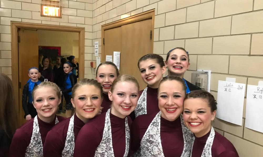 The New Ulm Cathedral dance team will have a new coach in 2018-19 (Photo: NewUlmAreaCatholicSchools/Facebook)